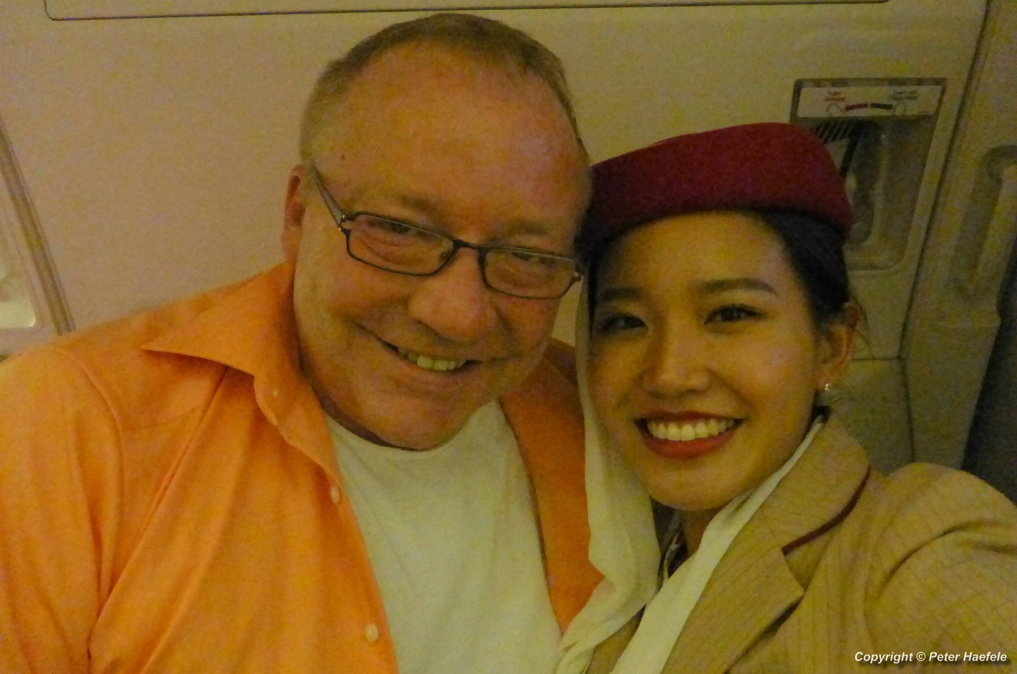 Mit der netten Emirates Stewardess in Dubai - With the nice Emirates stewardess in Dubai