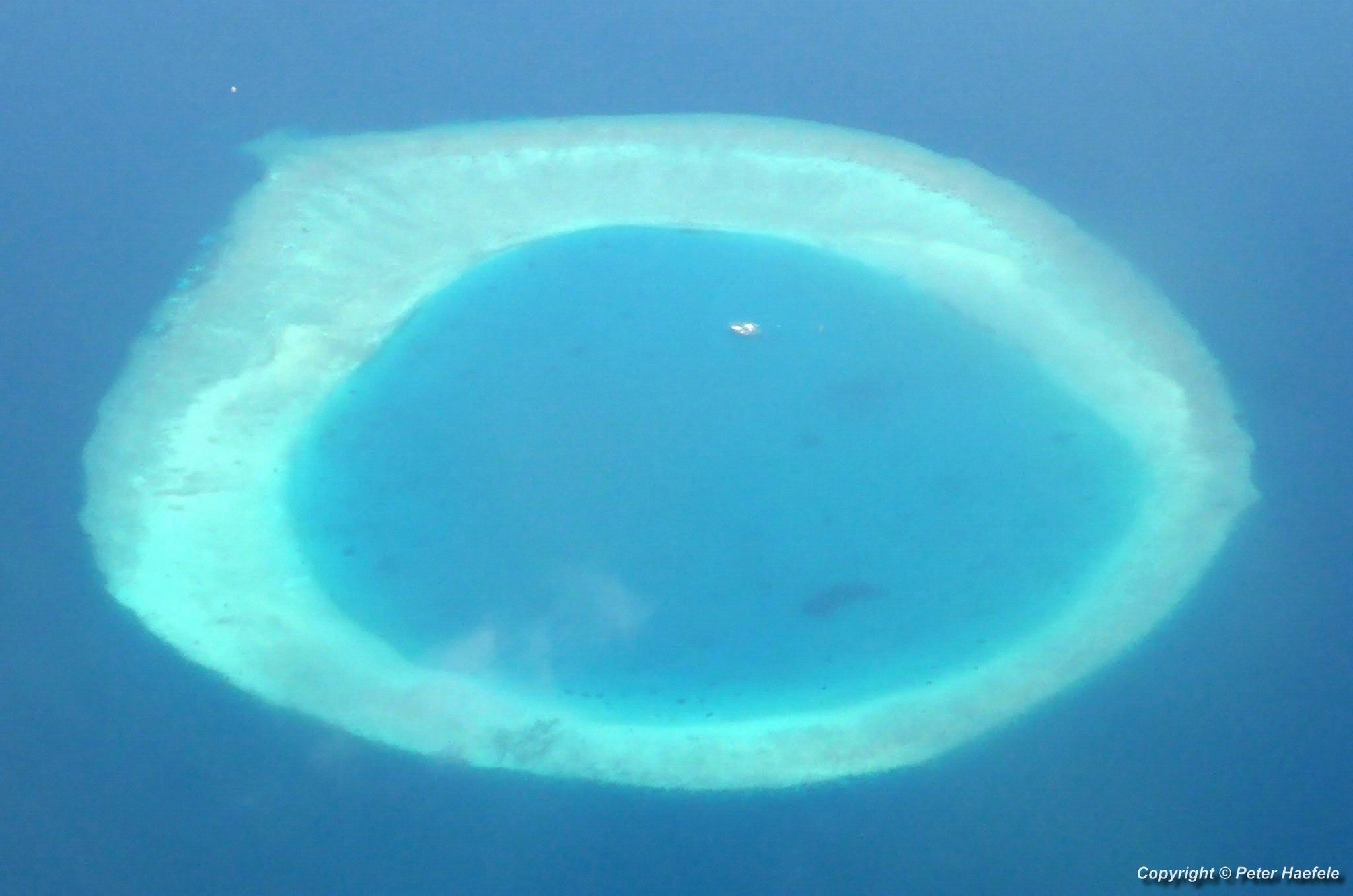Insel im Nord Male Atoll - Island in North Male Atoll