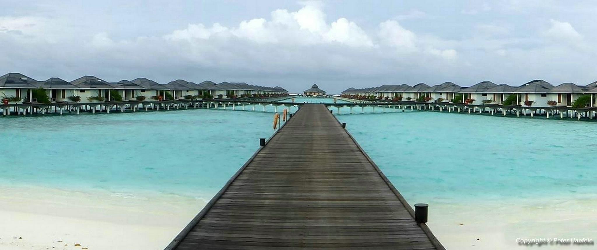 Wasserbungalows Sun Island Resort und Spa Sued Ari-Atoll Malediven