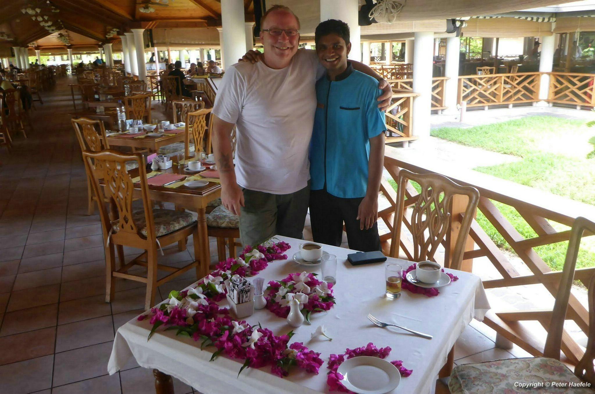 Traumurlaub auf den Malediven, Sun Island, Ari Atoll