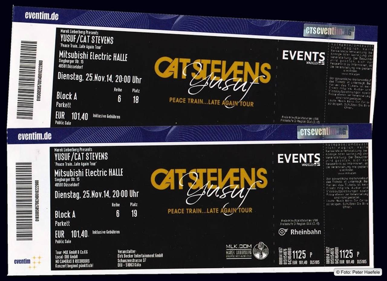 Yusuf / Cat Stevens Tickets