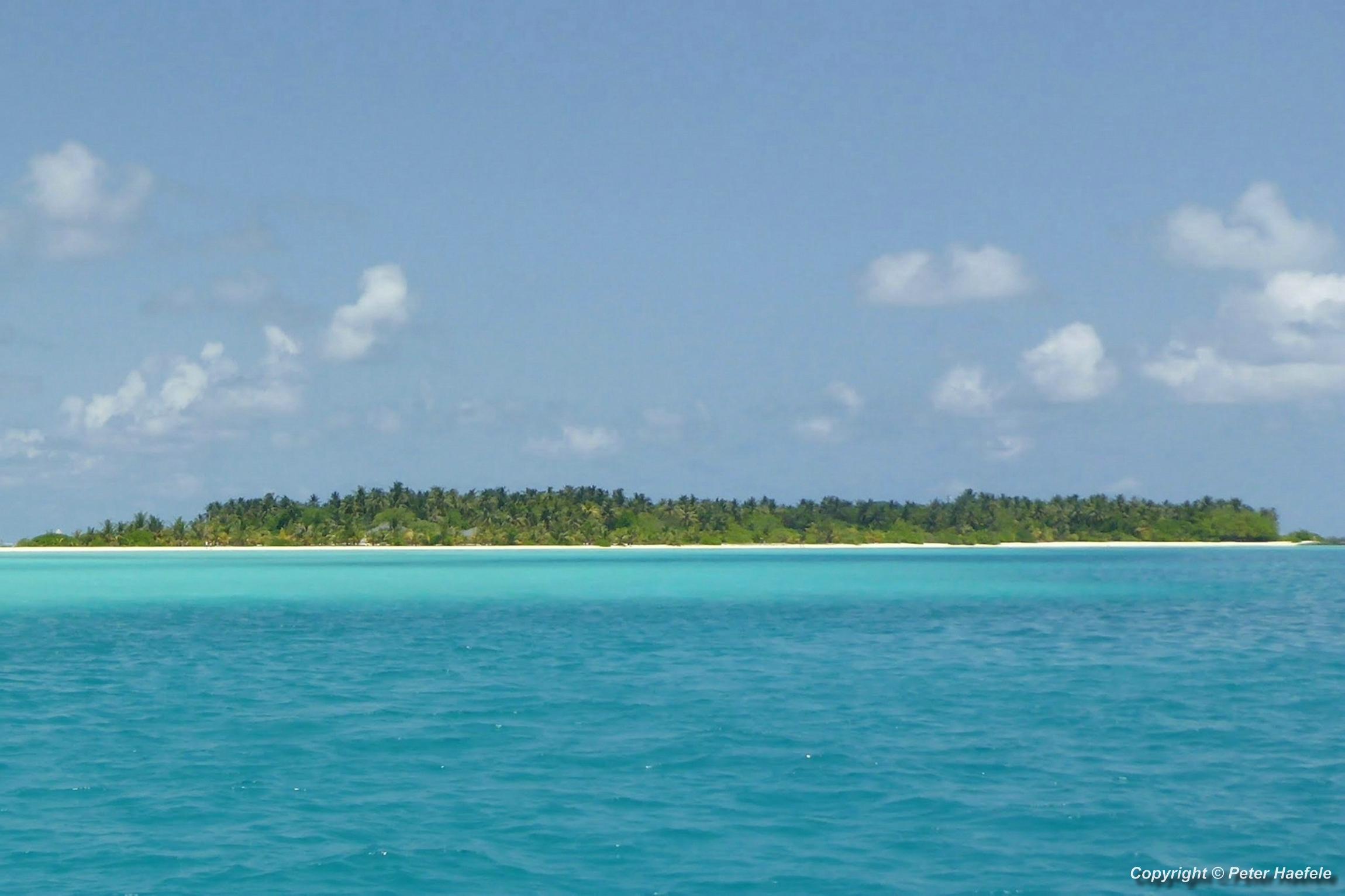 Nalaguraidhoo (Sun Island) im Sued Ari-Atoll